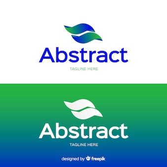 Logo abstracto para fondo claro y oscuro
