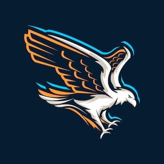 Logo de aguila voladora
