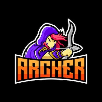 Logo de arquero