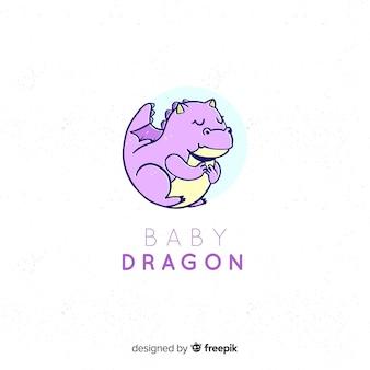Logo de bebé adorable con estilo moderno