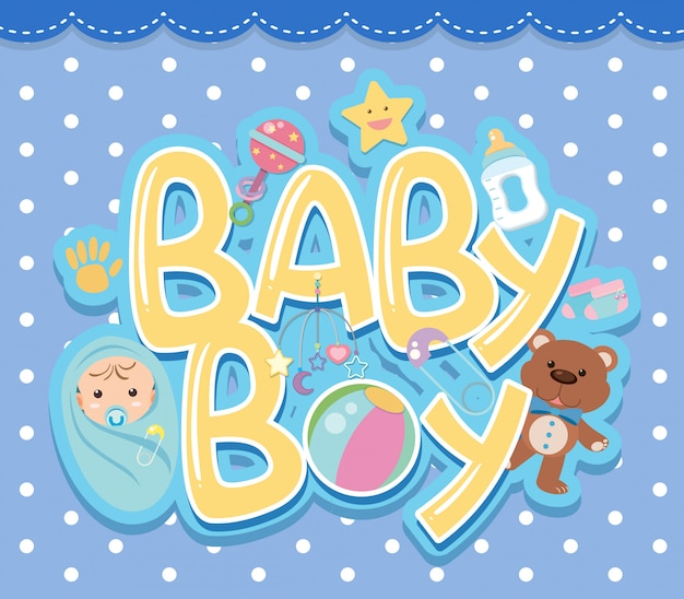 Logo de un bebe
