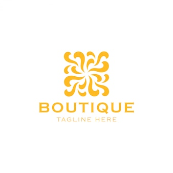 Logo de belleza abstracta