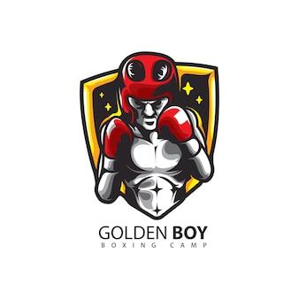 Logo de boxeo