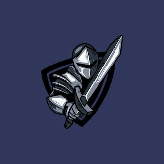 Logo de caballero