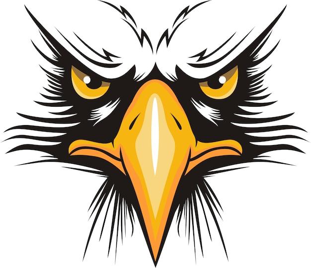 Logo de cabeza de águila