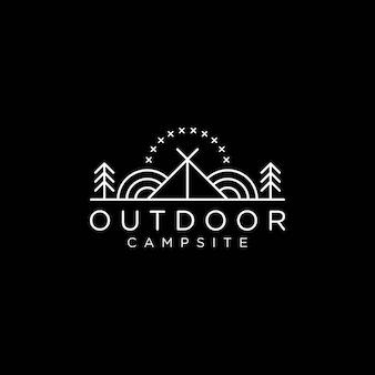 Logo del camping
