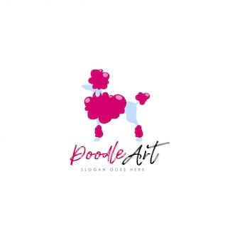 Logo de caniche