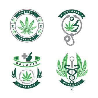 Logo de cannabis