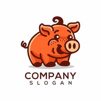 Logo de cerdo