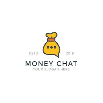 Logo de chat de dinero