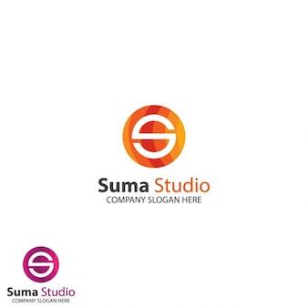 Logo circular de letra