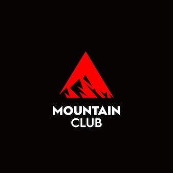El logo del club alpinista