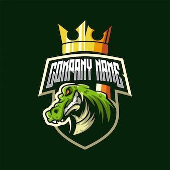 Logo de cocodrilo
