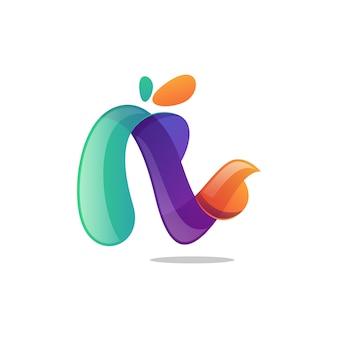 Logo colorido vector