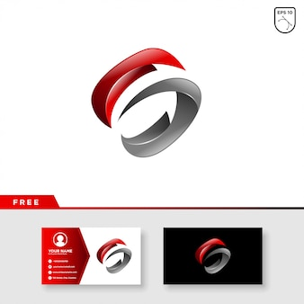 Logo creativo de la letra s