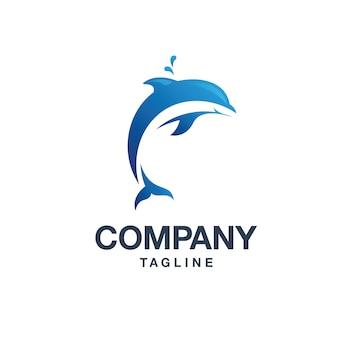 Logo de delfines