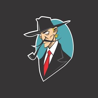 Logo de detective