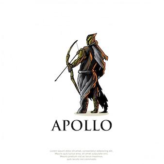 Logo de dios griego apolo