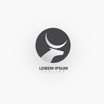 Logo con diseño de animal