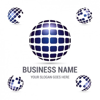 Logo de empresa corporativa