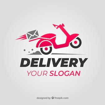 Logo de entrega para empresa