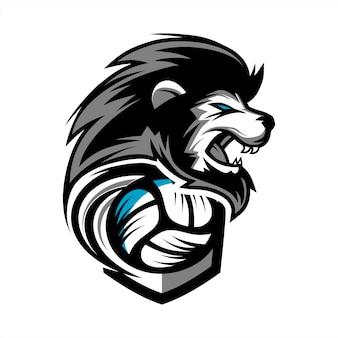 Logo del equipo volleyball lion