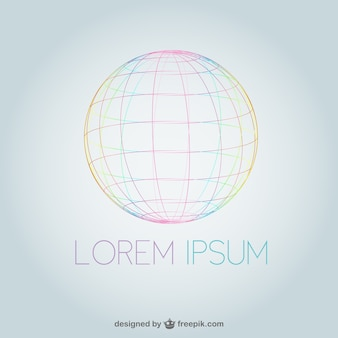 Logo con esfera