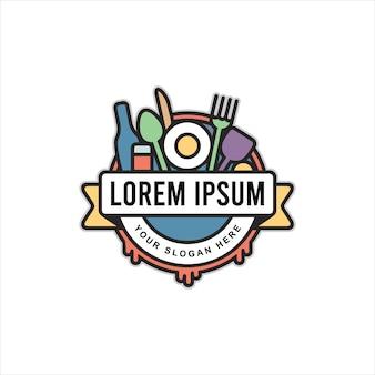 Logo de evento de comida