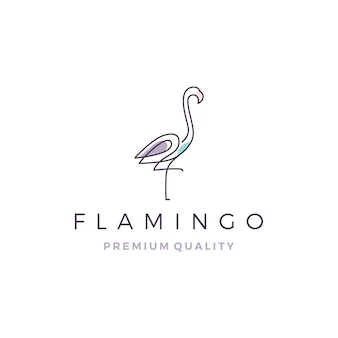 Logo de flamingo