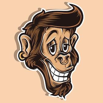 Logo de funky monkey