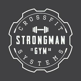Logo de gimnasio