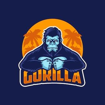 Logo de gorila sport