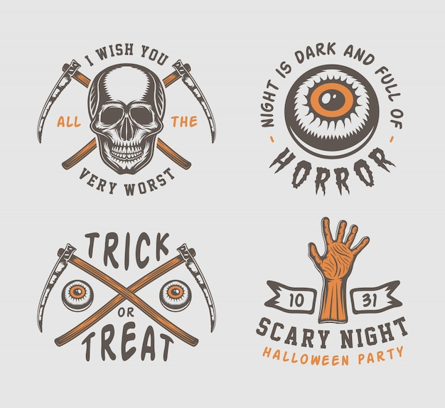 Logo de halloween