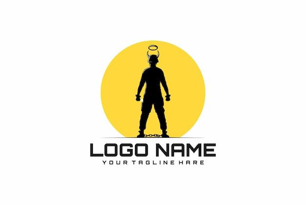 Logo de hombre freendom