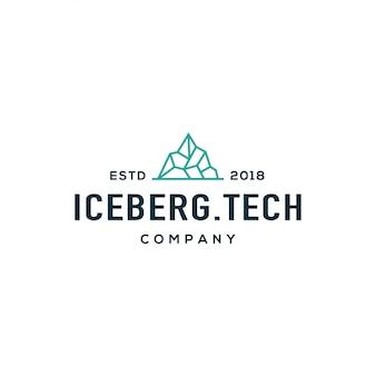 Logo de iceberg