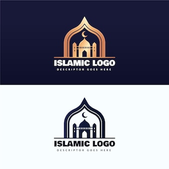 Logo islámico en dos colores