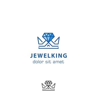 Logo de joyas rey