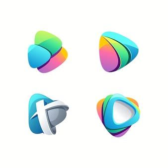 Logo de juego impresionante