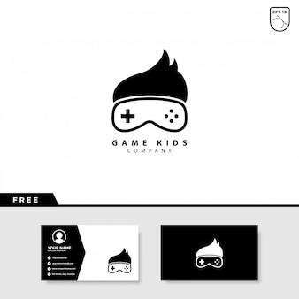 Logo de juegos para niños