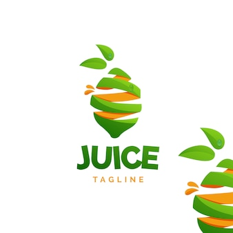 Logo de jugo de limón