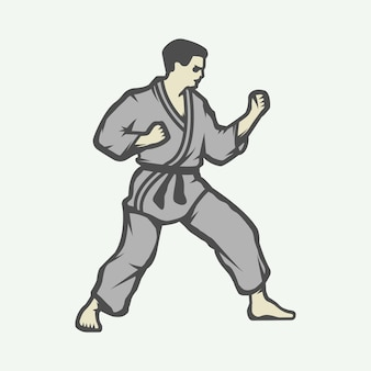Logo de karate