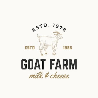 Logo de leche y queso fresco
