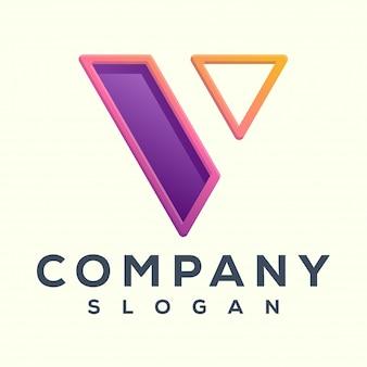 Logo letra v