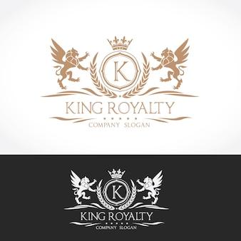 Logo de lion crests diseño de logotipo de lujo para hotel, club deportivo, inmobiliaria, spa, identidad de marca de moda