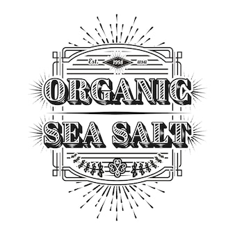 Logo marino vintage
