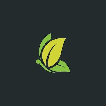 Logo de mariposa