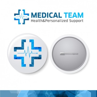 Logo de medical team
