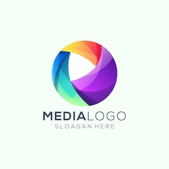 Logo de medios