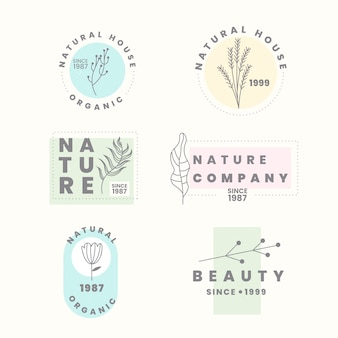 Logo para negocios naturales