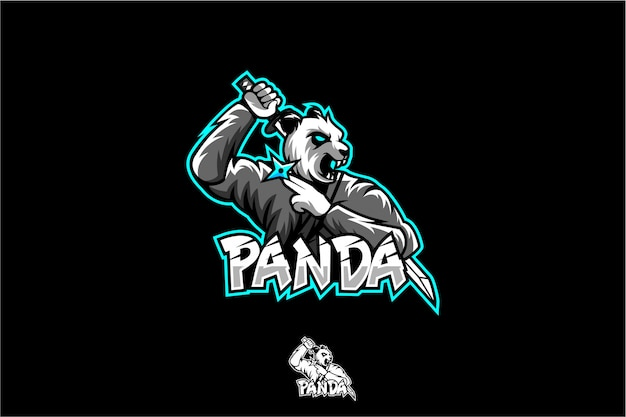 Logo de ninja panda esport